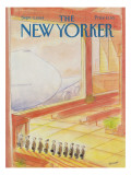 The New Yorker Cover - September 3, 1984 Regular Giclee Print by Jean-Jacques Sempé
