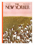 The New Yorker Cover - November 6, 1965 Regular Giclee Print by Ilonka Karasz