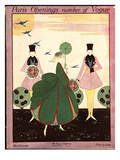 Vogue Cover - March 1916 Premium Giclee Print by Robert E. Locher