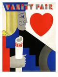 Vanity Fair Cover - November 1929 Regular Giclee Print by M. F. Agha