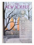 The New Yorker Cover - November 15, 1976 Premium Giclee Print by Charles E. Martin