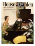 House & Garden Cover - July 1950 Regular Giclee Print by Horst P. Horst
