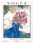 Vogue Cover - June 1923 Premium Giclee Print by Georges Lepape
