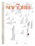 The New Yorker Cover - February 13, 1978 Regular Giclee Print by Robert Weber