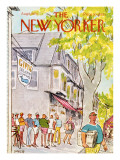 The New Yorker Cover - August 6, 1973 Regular Giclee Print by Charles Saxon