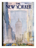 The New Yorker Cover - February 16, 1963 Premium Giclee Print by Alan Dunn