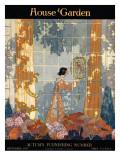 House & Garden Cover - September 1917 Regular Giclee Print by Porter Woodruff