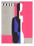 Vogue Cover - October 1929 Regular Giclee Print by Eduardo Garcia Benito