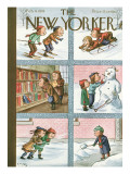 The New Yorker Cover - February 4, 1939 Regular Giclee Print by William Steig