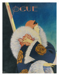 Vogue - January 1927 Premium Giclee Print by George Wolfe Plank