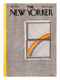 The New Yorker Cover - April 18, 1977 Regular Giclee Print by Pierre LeTan
