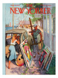 The New Yorker Cover - August 30, 1958 Regular Giclee Print by Arthur Getz