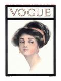 Vogue Cover - October 1910 Regular Giclee Print by Helen Dryden