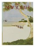 The New Yorker Cover - October 13, 1975 Regular Giclee Print by James Stevenson