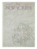 The New Yorker Cover - January 7, 1967 Regular Giclee Print by Laura Jean Allen