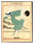 Vogue Cover - June 1918 Premium Giclee Print by Georges Lepape