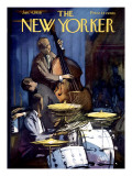 The New Yorker Cover - January 4, 1958 Premium Giclee Print by Arthur Getz