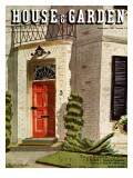 House & Garden Cover - September 1936 Regular Giclee Print by Pascal L'Anglais