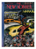 The New Yorker Cover - November 20, 1943 Regular Giclee Print by Victor De Pauw