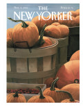 The New Yorker Cover - November 4, 1991 Premium Giclee Print by Gretchen Dow Simpson
