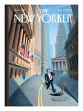 The New Yorker Cover - September 29, 2008 Regular Giclee Print by Eric Drooker