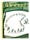 The New Yorker Cover - March 5, 1960 Regular Giclee Print by Mario Micossi