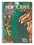 The New Yorker Cover - October 24, 1964 Premium Giclee Print by Peter Arno