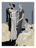 Vogue - November 1930 Regular Giclee Print by William Bolin