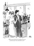 """""""When you're finished not looking at her, can you divert your non-attentio…"""" - New Yorker Cartoon Premium Giclee Print by Marisa Acocella Marchetto"""
