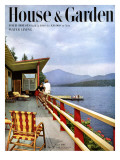 House & Garden Cover - August 1949 Premium Giclee Print by Robert M. Damora