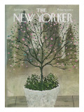 The New Yorker Cover - April 25, 1970 Premium Giclee Print by Laura Jean Allen