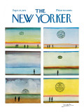 The New Yorker Cover - September 25, 1971 Premium Giclee Print by Saul Steinberg
