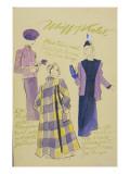 Vogue - March 1938 Regular Giclee Print by R.S. Grafstrom