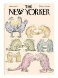 The New Yorker Cover - June 13, 1977 Premium Giclee Print by Edward Koren