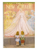 The New Yorker Cover - May 29, 1954 Premium Giclee Print by Edna Eicke