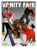 Vanity Fair Cover - December 1933 Regular Giclee Print by  Garretto