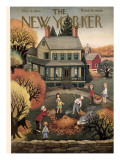 The New Yorker Cover - October 12, 1946 Premium Giclee Print by Edna Eicke