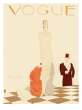 Vogue Cover - December 1925 Regular Giclee Print by Eduardo Garcia Benito
