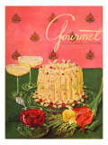 Gourmet Cover - April 1951 Regular Giclee Print by Henry Stahlhut