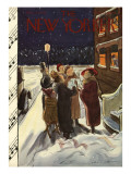 The New Yorker Cover - December 23, 1933 Regular Giclee Print by Helen E. Hokinson