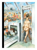 The New Yorker Cover - May 26, 2008 Premium Giclee Print by Peter de Sève