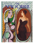 The New Yorker Cover - November 23, 1992 Regular Giclee Print by Russell Connor