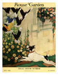 House & Garden Cover - July 1916 Premium Giclee Print by Charles Livingston Bull