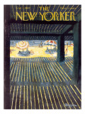 The New Yorker Cover - September 3, 1960 Premium Giclee Print by Donald Higgins