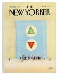 The New Yorker Cover - September 28, 1987 Regular Giclee Print by Paul Degen