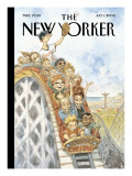 The New Yorker Cover - July 1, 2002 Premium Giclee Print by Peter de Sève