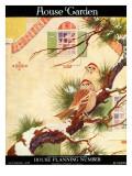 House & Garden Cover - November 1916 Premium Giclee Print by Charles Livingston Bull