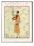 Vogue Cover - February 1926 Premium Giclee Print by André E. Marty