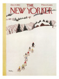 The New Yorker Cover - January 27, 1962 Premium Giclee Print by Susanne Suba