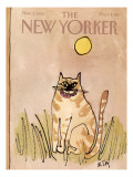 The New Yorker Cover - November 1, 1982 Regular Giclee Print by William Steig